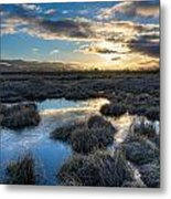 Cold Morning Metal Print by James Wheeler