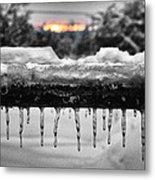 Cold Morning Light Metal Print