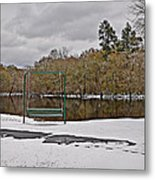 Cold River Metal Print