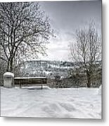Cold Seat With A View Metal Print