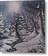 Cold Snap Metal Print