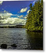 Cold Spring Day In Vermont Metal Print