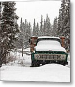 Cold Storage Metal Print
