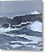 Cold Surf Metal Print