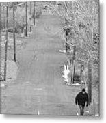 Cold Walk Metal Print