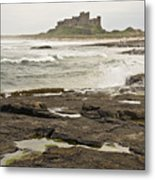 Cold Waves Of Northumberland Metal Print