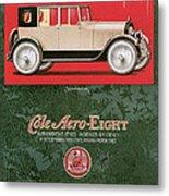 Cole Aero Eight Vintage Poster Metal Print