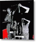 Collage Body Talk Poster Prize Jello Wrestling Contest Gay Bar Tucson Arizona 1992 Metal Print