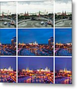 Collage - Kremlin View - Featured 3 Metal Print