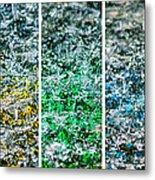 Collage Liquid Rainbow 1 - Featured 3 Metal Print