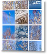 Collage March - Featured 3 Metal Print