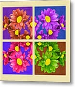 Collage Of Colors Metal Print