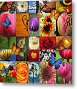 Collage Of Happiness  Metal Print