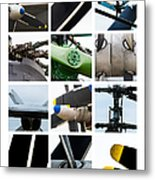 Collage Propeller - Featured 2 Metal Print