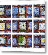 Collage The Theory Of Black Holes Metal Print