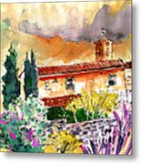 Colle D Val D Elsa In Italy 03 Metal Print