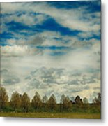 Collecting Thoughts Metal Print