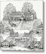 College Of William And Mary Metal Print