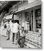 College Street Calcutta  Metal Print