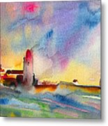 Collioure Impression 01 Metal Print