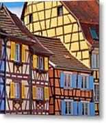 Colmar Alsace Metal Print