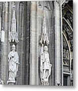 Cologne Cathedral South Side Detail 2 Metal Print
