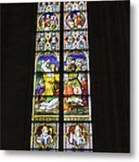 Cologne Cathedral Stained Glass Window Of St. Stephen Metal Print