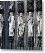 Cologne Cathedral Statuary Metal Print