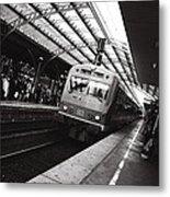 Cologne Trainstation Metal Print by Jimmy Karlsson