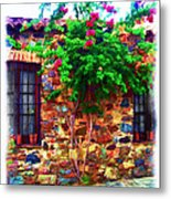 Colonia Del Sacramento Window Metal Print