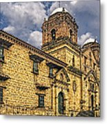 Colonial Church Metal Print