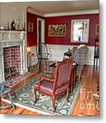 Colonial Parlor Metal Print by Olivier Le Queinec