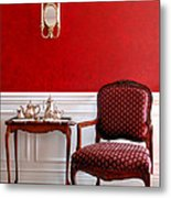 Colonial Style Metal Print by Olivier Le Queinec