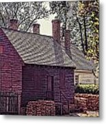 Colonial Williamsburg Metal Print