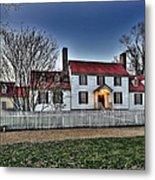 Colonial Williamsburg George Tucker House Metal Print