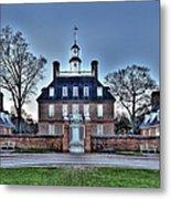 Colonial Williamsburg Governor's Palace Moonrise Metal Print