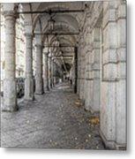 Colonnaden In Hamburg Germany Metal Print