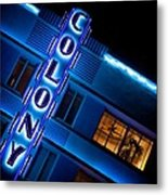 Colony Hotel 1 Metal Print