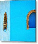 Color About Town - Blue Metal Print