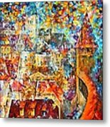 Color Castle Metal Print