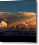 90234 Color Cloud Nm  Metal Print