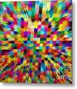 Color Explosion I Metal Print