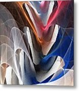 Color Fold Metal Print