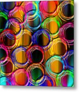 Color Frenzy 5 Metal Print