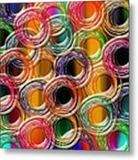 Color Frenzy 6 Metal Print