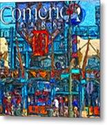 Color In Comerica Metal Print