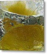 Color In Ice Series 63 Metal Print