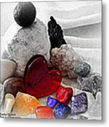 Color In The Midst Metal Print