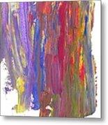 Color Mix 21 Metal Print