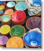 Color My Bowl With Love Metal Print